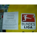 Official DEKOGRAPHICS Bundesliga 2014-17 WHITE PU Patch
