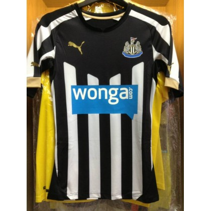 PLAYER VERSION PUMA Newcastle Home Authentic ACTV 2014-15 Jersey