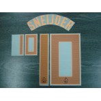 Official Sporting ID SNEIJDER #10 Holland Away EURO 2012 Name Number