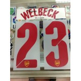Official WELBECK #23 Arsenal Away UCL 2014-15 PRINT