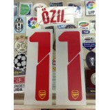 Official OZIL #11 Arsenal Away UCL 2014-15 PRINT