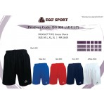 EGO SPORT EG 900 Team Wear Football / Futsal Shorts