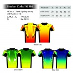 EGO SPORT EG 394 SHORT SLEEVES CYCLING JERSEY