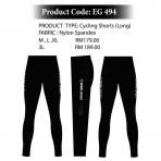 EGO SPORT EG 494 CYCLING LONG PANTS
