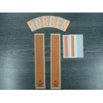 Official Sporting ID ROBBEN #11 Holland Away EURO 2012 Name Number