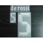 Official DE ROSSI #5 Italy Home EURO 2012 PRINT