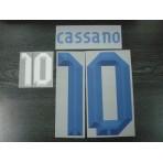 Official CASSANO #10 Italy Away EURO 2012 2012-14 PRINT