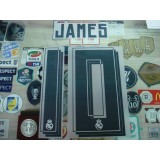 Official JAMES #10 Real Madrid Home 2015-16 SPORTING ID PRINT