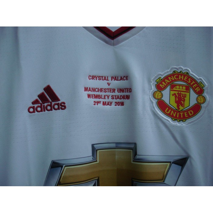 e67a9d84b ADIDAS Manchester United Away 2015-16 with FA CUP FINAL Embroidery Jersey