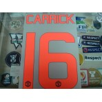 Official CARRICK #16 Manchester United 3rd CUP UCL EUROPA 2015-16 PRINT