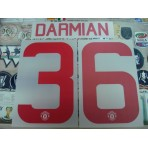 Official DARMIAN #36 Manchester United Away CUP UCL EUROPA 2015-16 PRINT