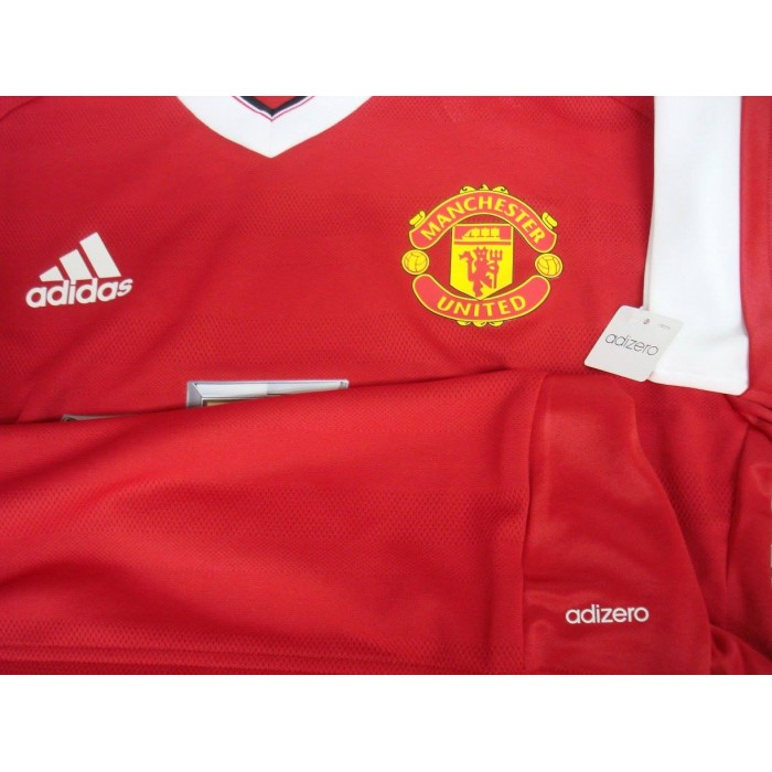 2b4d5d23 ADIZERO Manchester United Home 2015-16 PLAYER EDITION Jersey
