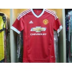 ADIZERO Manchester United Home 2015-16 PLAYER EDITION  Jersey