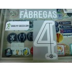 OFFICIAL FABREGAS #4 Chelsea 3rd UCL CUP 2015-16 PU PRINT