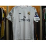 ADIDAS Real Madrid Home UCL 2015-16 Jersey