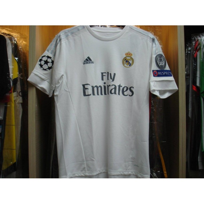 online retailer 1377c 1111d ADIDAS Real Madrid Home UCL 2015-16 Jersey