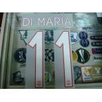 Official DI MARIA #11  Paris Saint Germain PSG Home UCL 2015-16 PRINT