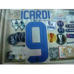 Official ICARDI #9 Inter Milan Away 2015-16 STILSCREEN Name Number