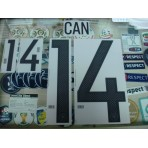 Official CAN #14 Germany Home 2015-17 EURO 2016 PRINT