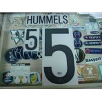 Official HUMMELS #5 Germany Home 2015-17 EURO 2016 PRINT
