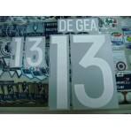 Official DE GEA #13 Spain Home GK 2015-17 EURO 2016 PRINT