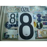 Official OZIL #8 Germany Home 2015-16 EURO 2016 PRINT