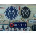 OFFICIAL Barcelona UCL CHAMPION 2015 + BOH 5 + RESPECT Patch