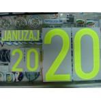 Official JANUZAJ #20 BELGIUM Home 2015-17 EURO 2016 PRINT