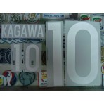 Official KAGAWA #10 Japan Home 2015-17 PRINT