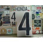 Official HONDA #4 Japan Away 2015-17 PRINT
