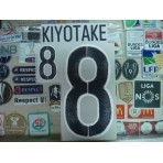 Official KIYOTAKE #8 Japan Away 2015-17 PRINT