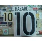 Official E.HAZARD #10 BELGIUM Away 2015-17 EURO 2016 PRINT
