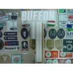 Official BUFFON #1 Italy Home 2015-17 EURO 2016 PU PRINT