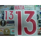 Official MATA #13 Spain Away 2015-17 EURO 2016 PRINT