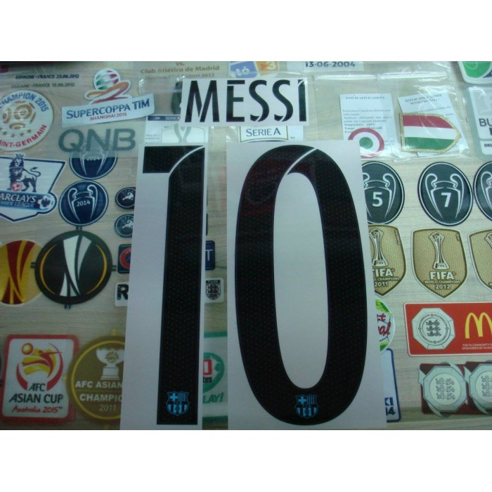 Official messi 10 barcelona 3rd ucl 2015 16 print