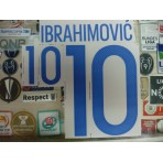 Official IBRAHIMOVIC #10 SWEDEN Home 2015-17 EURO 2016 PRINT