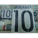 Official KAGAWA #10 Japan Away 2015-17 PRINT