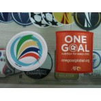 Official AFC CUP 2015 + ONE GOAL LICENSED Patches