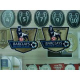 Official EPL PLAYER SIZE Man City Champion 2011-12 GOLD Patches