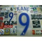 Official KANE #9 England Home EURO 2016 2016-18 PRINT