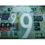 Official GIROUD #9 France Home EURO 2016 2016-18 PRINT