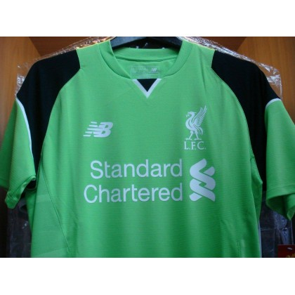 NEW BALANCE Liverpool Home GK  2016-17 SS Jersey