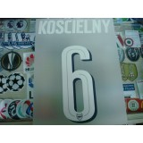 Official KOSCIELNY #6 Arsenal Home UCL CUP 2016-17 PRINT