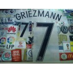 Official GRIEZMANN #7 France Away EURO 2016 2016-18 PRINT