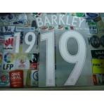 Official BARKLEY #19 England Away EURO 2016 2016-18 PRINT