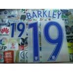 Official BARKLEY #19 England Home EURO 2016 2016-18 PRINT