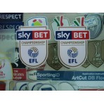 Official English Football League CHAMPIONSHIP 2016-17 PLAYER SIZE Patches