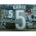 Official KANTE #5 France Home EURO 2016 2016-18 PRINT