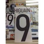 Official HIGUAIN #9 Argentina Home 2015-17 PRINT