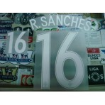 Official R.SANCHES #16 Portugal Home EURO 2016 2016-18 PRINT